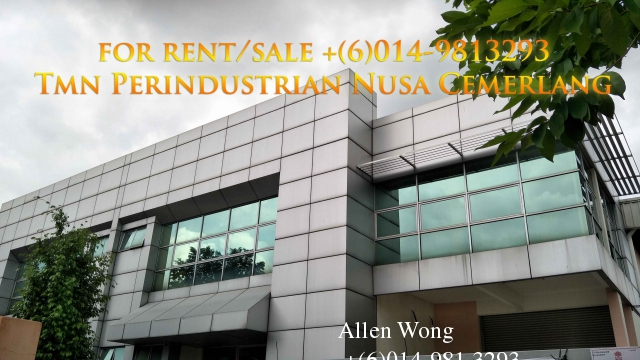 nusa cemerlang semi-d factory for sale Photo 5