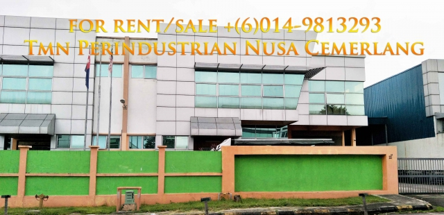 nusa cemerlang semi-d factory for sale Photo 6
