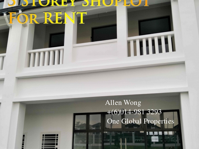 eco boulevard - 3 storey shoplot@eco botanic for rent Photo 2