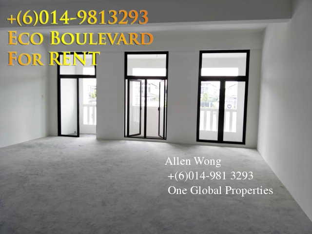 eco boulevard - 3 storey shoplot@eco botanic for rent Photo 3