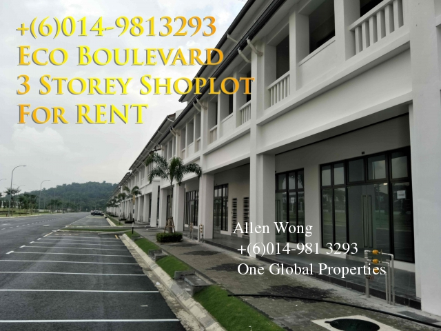 eco boulevard - 3 storey shoplot@eco botanic for rent Photo 4