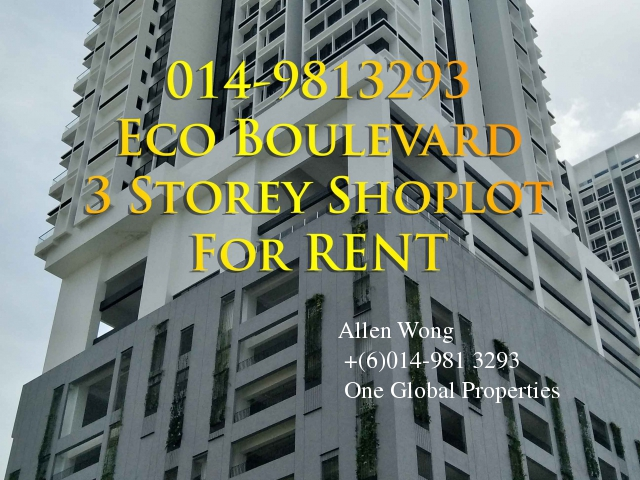 eco boulevard - ground floor shoplot@eco botanic for rent Photo 11