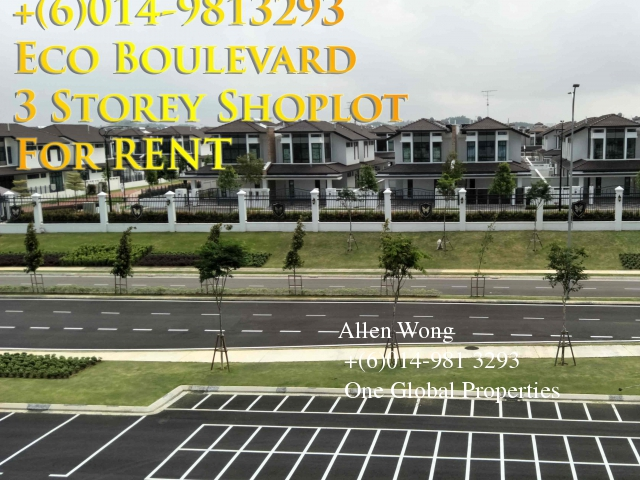 eco boulevard - ground floor shoplot@eco botanic for rent Photo 5