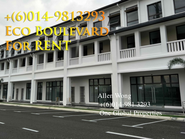 eco boulevard - ground floor shoplot@eco botanic for rent Photo 6