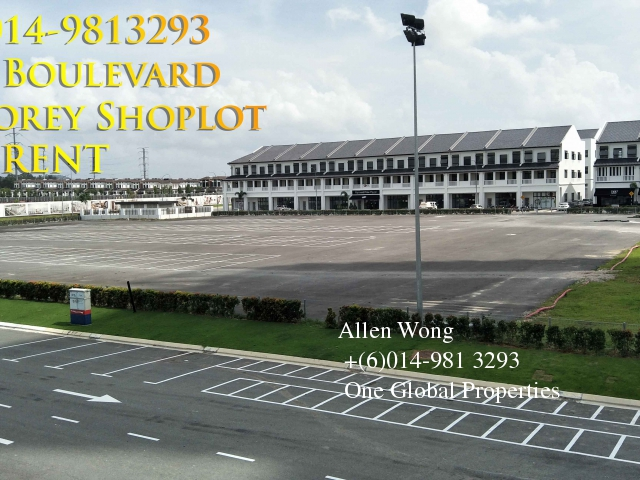 eco boulevard - ground floor shoplot@eco botanic for rent Photo 8