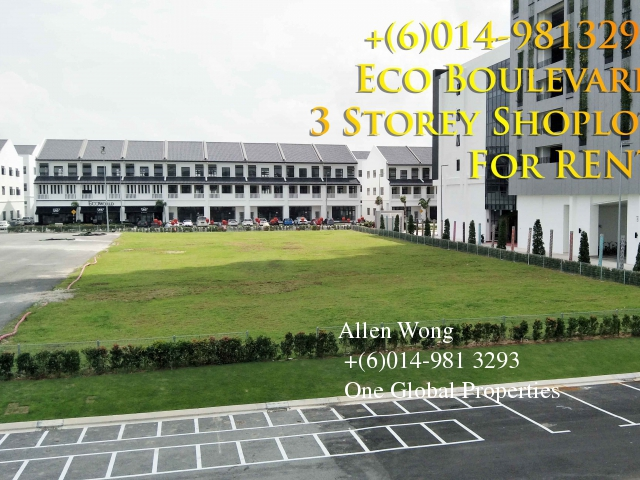 eco boulevard - ground floor shoplot@eco botanic for rent Photo 9